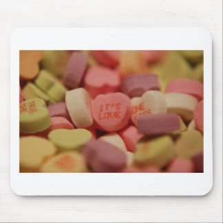 Heart Candy - Its Love Mouse Pad