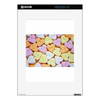 Heart Candy Skin For iPad