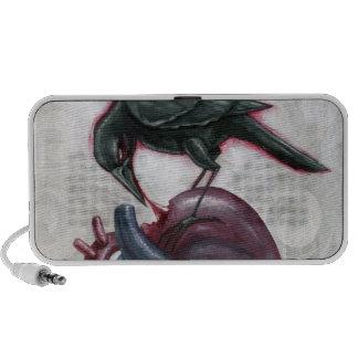 Heart cannibal laptop speakers