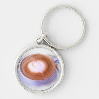 Heart Cappuccino Keychain