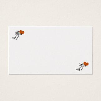 Heart card of angel