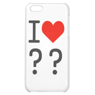 heart case for iPhone 5C