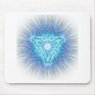 heart chakra (ajna अजन) mouse pads