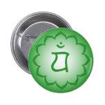 Heart Chakra - Anahata Button