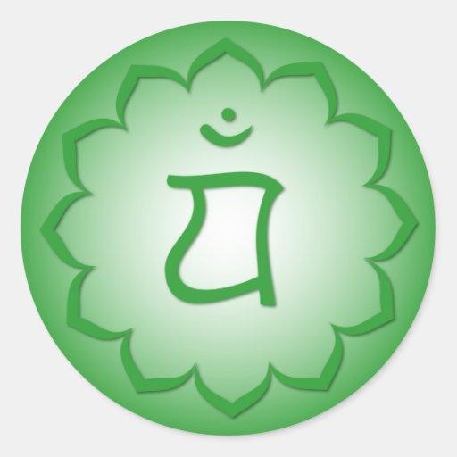 Heart Chakra - Anahata Sticker