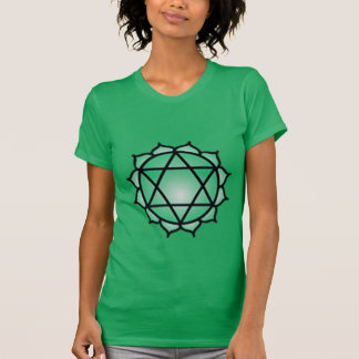 Heart Chakra Balance American Apparel Fine Jersey Tshirt