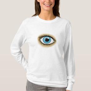 Heart Chakra Blue Eye T-Shirt