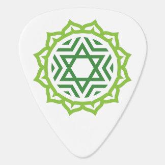 Heart Chakra Energy Custom Guitar Pick Pick