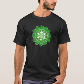 Heart Chakra - Fractal Bloom T-Shirt