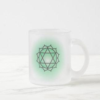 Heart Chakra Glass Mug