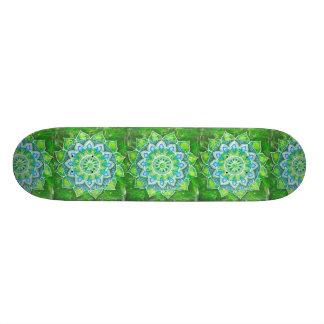 Heart chakra, green loving,compassionate,forgiving custom skate board