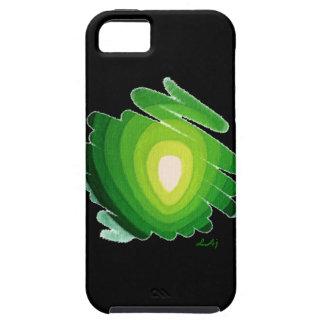 Heart Chakra Green on Black Art iPhone5 Vibe Case