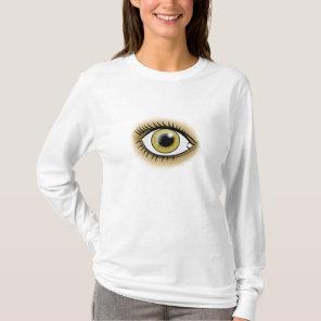 Heart Chakra Hazel Eye T-Shirt
