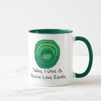 Heart Chakra Healing Art - #1 - Relationships Mug