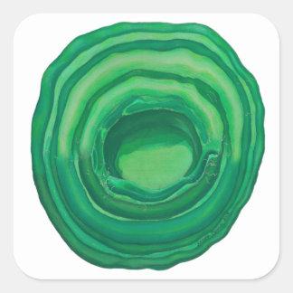 Heart Chakra Healing Art - #1 Square Sticker