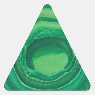 Heart Chakra Healing Art - #1 Triangle Stickers