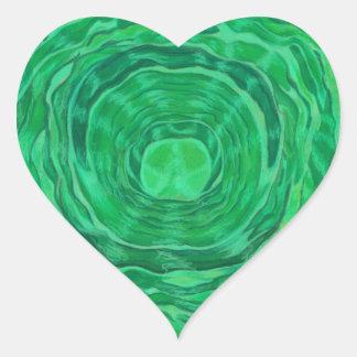Heart Chakra Healing Art - #3 Stickers