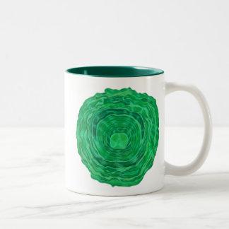 Heart Chakra Healing Art - #3 Two-Tone Coffee Mug