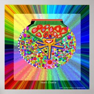 Heart Chakra print