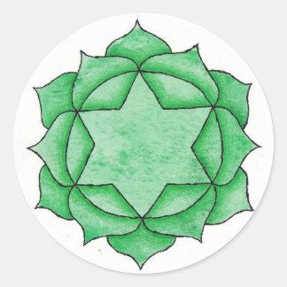 Heart Chakra Sticker