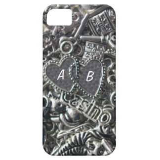 Heart charms iPhone SE/5/5s case