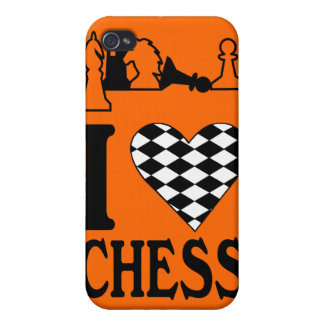 Heart Chess copy iPhone 4/4S Cover