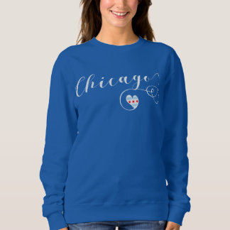 Heart Chicago Sweatshirt, Illinois Sweatshirt