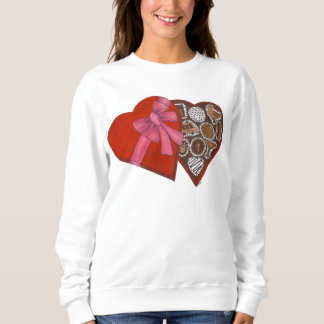 Heart Chocolate Box New York Valentine Sweatshirt