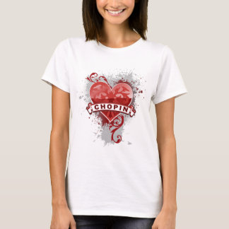 Heart Chopin T-Shirt