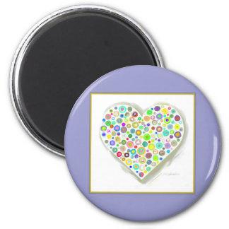 HEART CIRCLES MAGNET