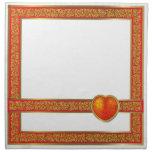 Heart Cloth Napkin