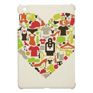 Heart clothes2 iPad mini case
