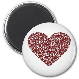 Heart clothes magnet