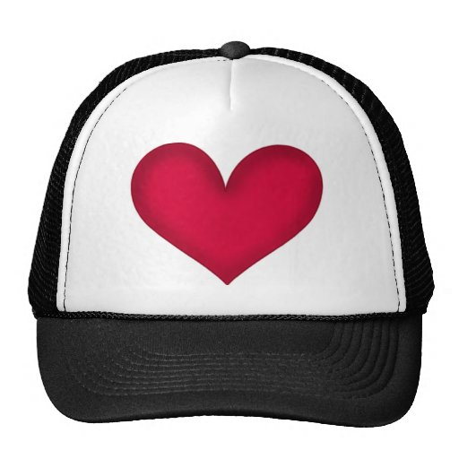 heart clothes trucker hat