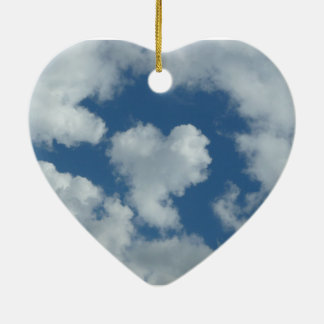 Heart Cloud Heart Ornament