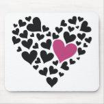 Heart Cloud Mouse Pads
