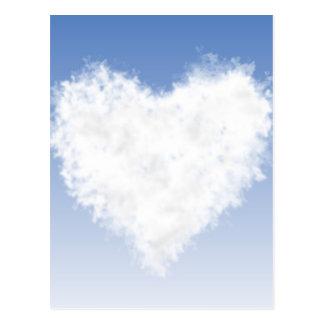 Heart Cloud Postcard