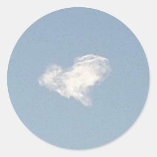 Heart Cloud Sticker