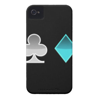 heart clover square pricks Case-Mate iPhone 4 case