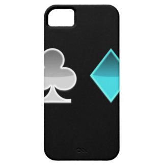 heart clover square pricks iPhone SE/5/5s case