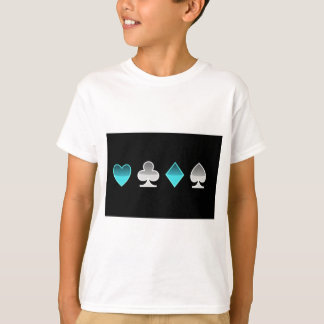 heart clover square pricks T-Shirt