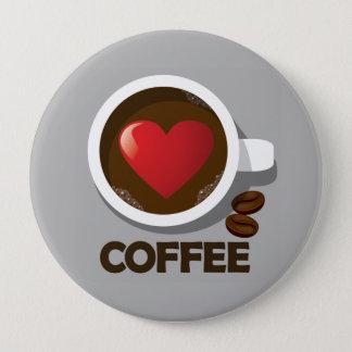 Heart Coffee Cup Pin