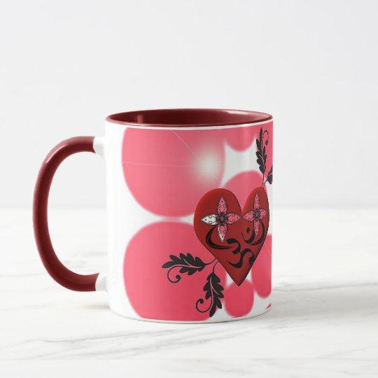 Heart Coffee Mug - Yoga Gifts
