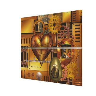 Heart Cogs - SRF Canvas Print