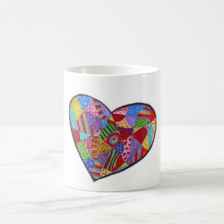 Heart Collage 11 oz Classic White Mug