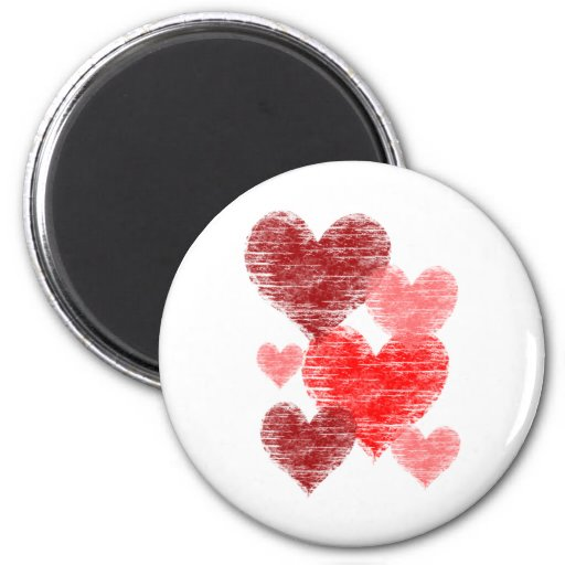 Heart Collage Magnet