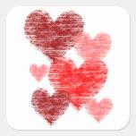 Heart Collage Sticker