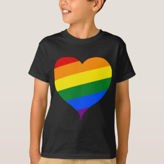 Heart colored T-Shirt
