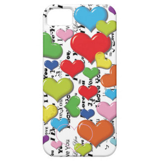 Heart Colorfull Iphone Case