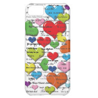 Heart Colorfull Iphone Case iPhone 5C Cases